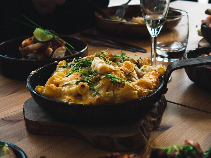 Cornish Crawfish Mac N Cheese