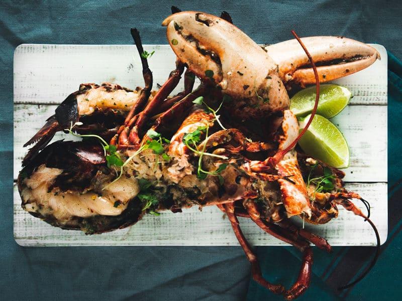 BBQ Jerk Lobster by W Harvey & Sons