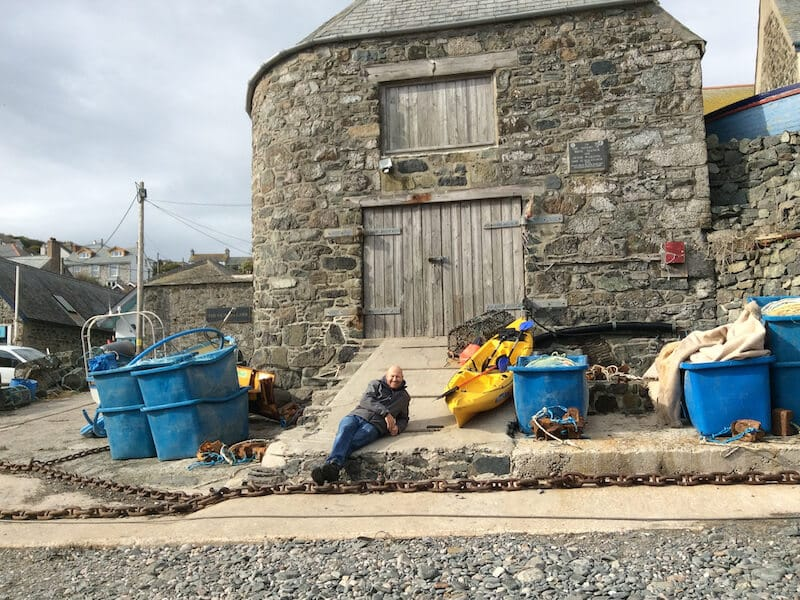 Julian Harvey at Cadgwith Cove